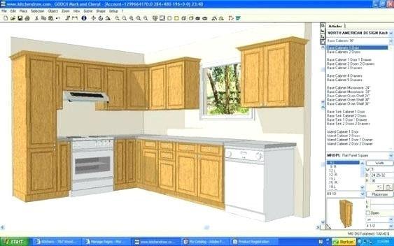 new free kitchen cabinet design software  kitchen cabinet