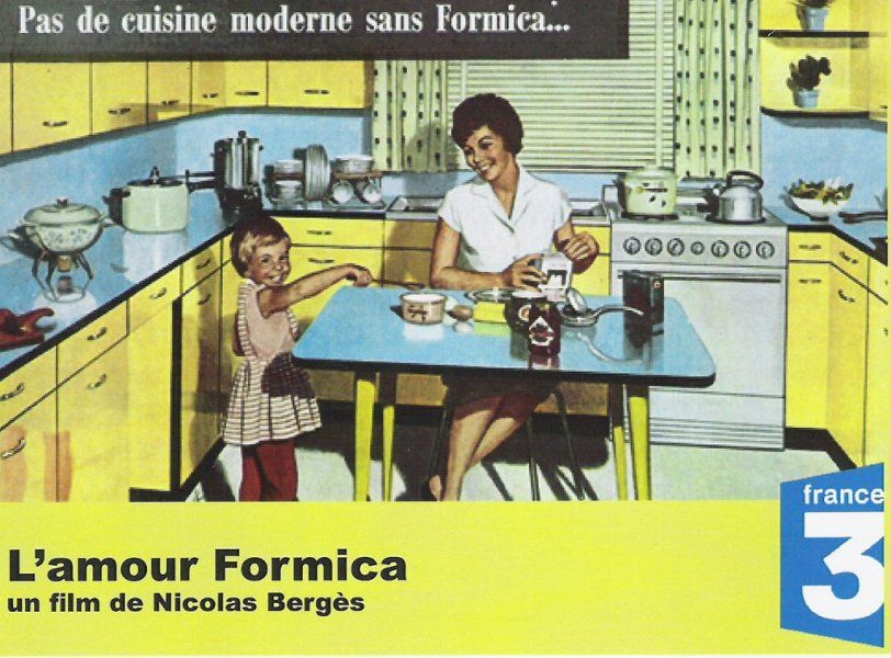 Qui N Avait Pas Sa Cuisine En Formica Dans Les Annees 50 Design
