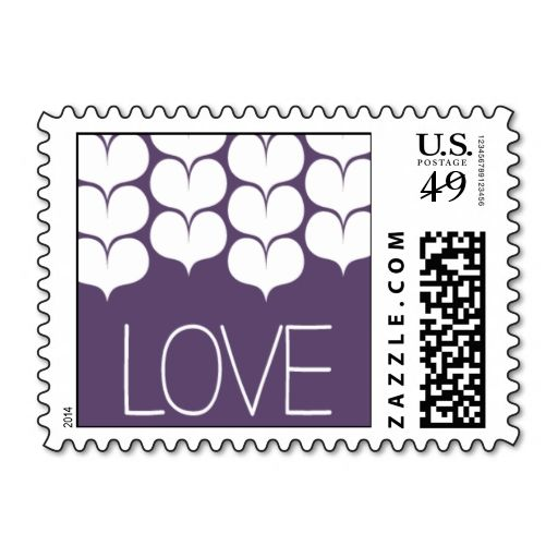 Heartfelt - Love - Purple Stamps. This great business card design is available for customization. All text style, colors, sizes can be modified to fit your needs. Just click the image to learn more!