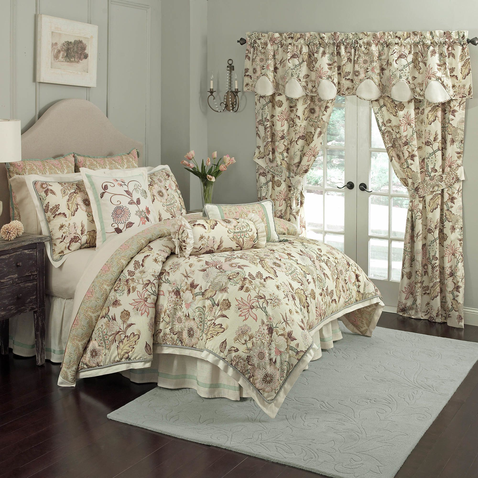Waverly Graceful Garden 4 Piece forter Set & Reviews