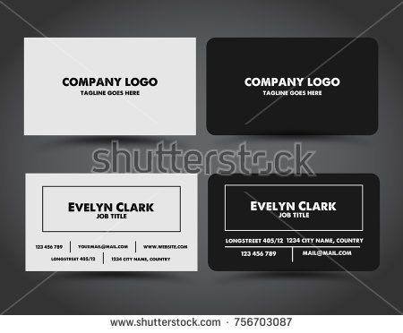 Business card template design white vector modern simple business card template design white vector modern simple background cards creative name element set texture abstract paper layout reheart Images