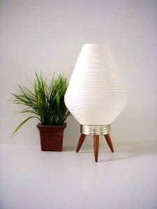 Vintage 50s 60s Mid Century Modern Beehive Lamp Atomic Space... review | buy
