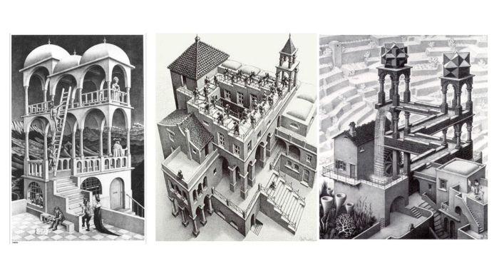 Y El Videojuego Encontró A Escher Jot Down Cultural Magazine Art Abstract Artwork Artwork
