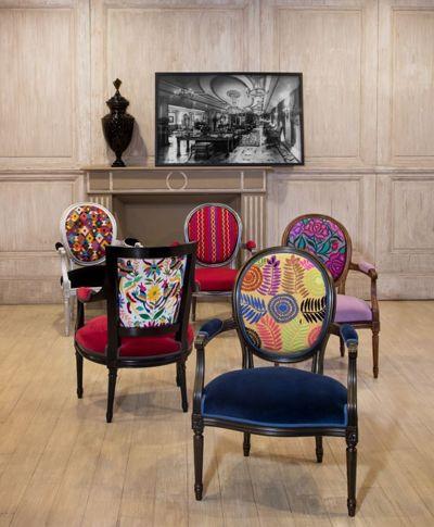 L Artesania De Vivir By Roche Bobois Florian And Lully Armchairs Designed By Roche Bobois Studio Mexico 2 Sillas Tapizar Muebles Decoracion De Interiores
