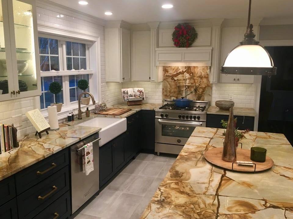 Roma Imperiale Granite Kitchen in Historical Savannah GA Stone