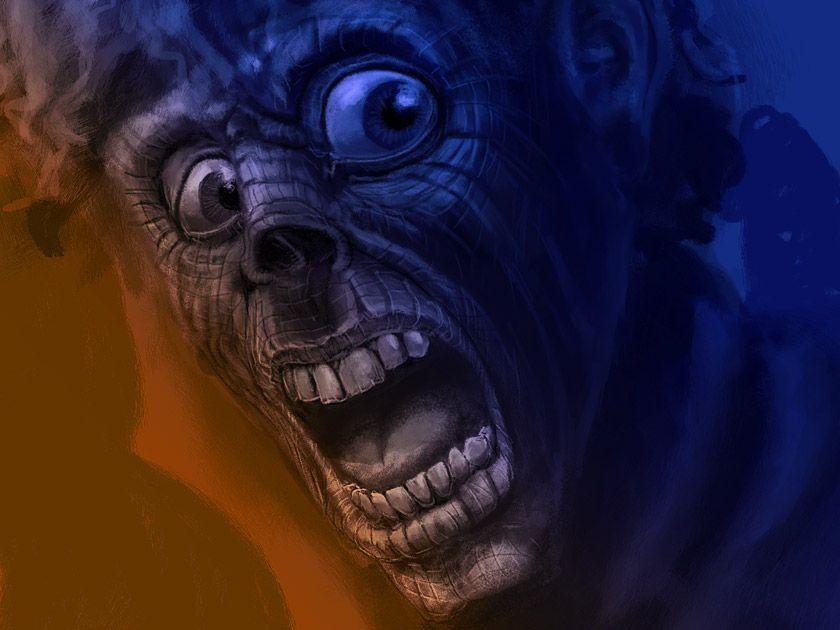 Resected Zombie Alex Marques Digital Arts - Portfolio - Editorial