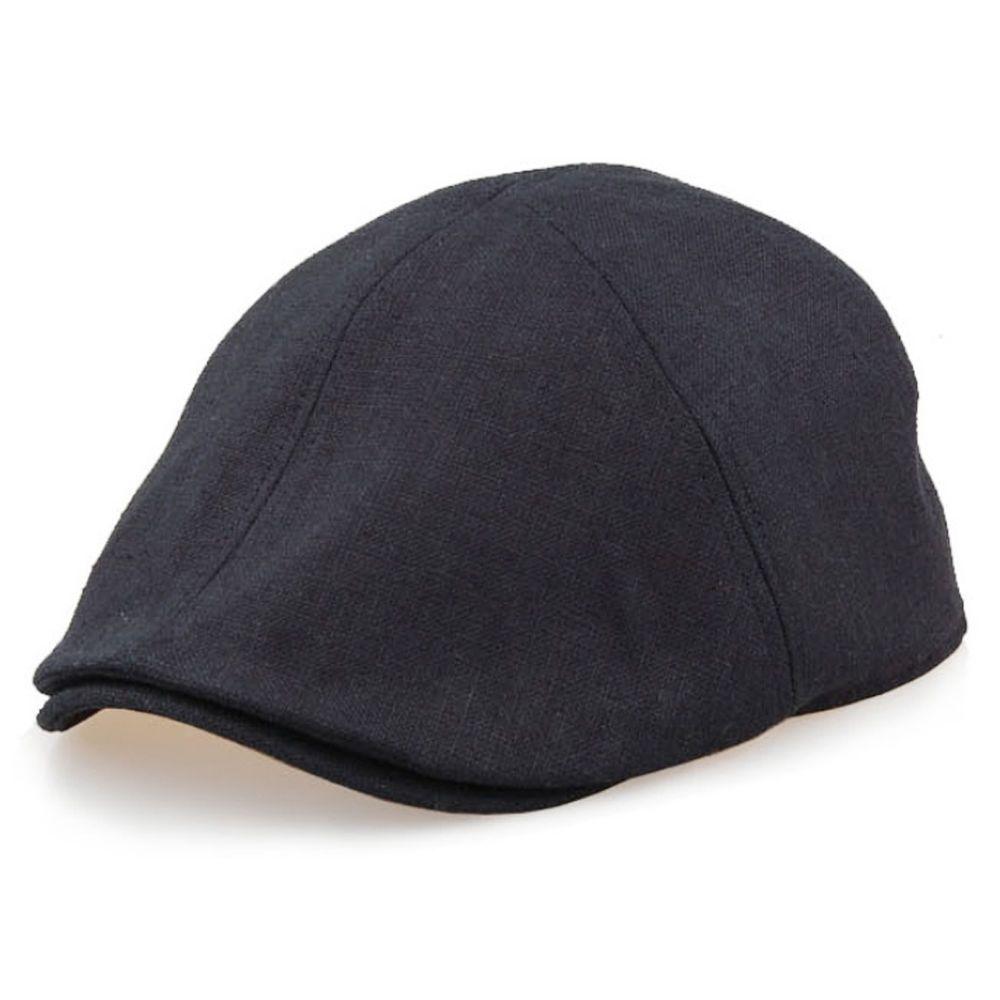 New Mens Black Flat Cap Tweed Cabbie Hat Gatsby Ivy Irish Newsboy Caps-JRH018e   ENCACC  NewsboyCabbie f2a987d1158