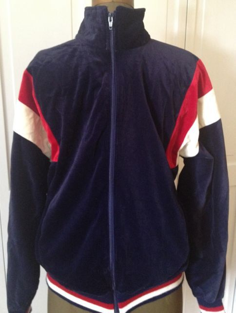 Mens 80s Pierre Cardin Velour Track Jacket By Northcountryclassics 36 00 Vintage Clothing Men Mens Outfits Vintage Men