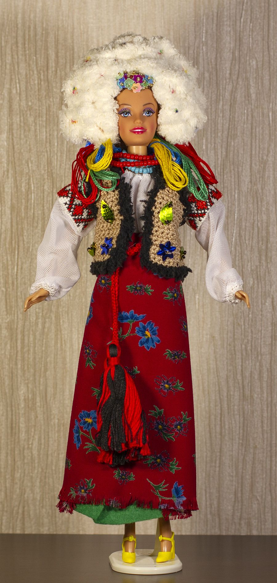 Ukrainian doll Ukrainian bride Ukrainian Barbie clothes