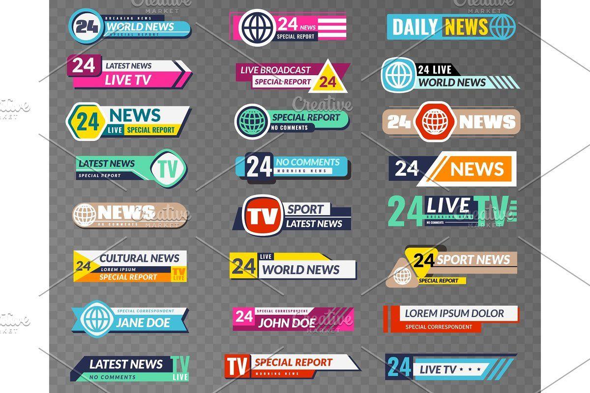 Breaking News Tv Reporting Screen Streaming Tv Broadcast Tv News