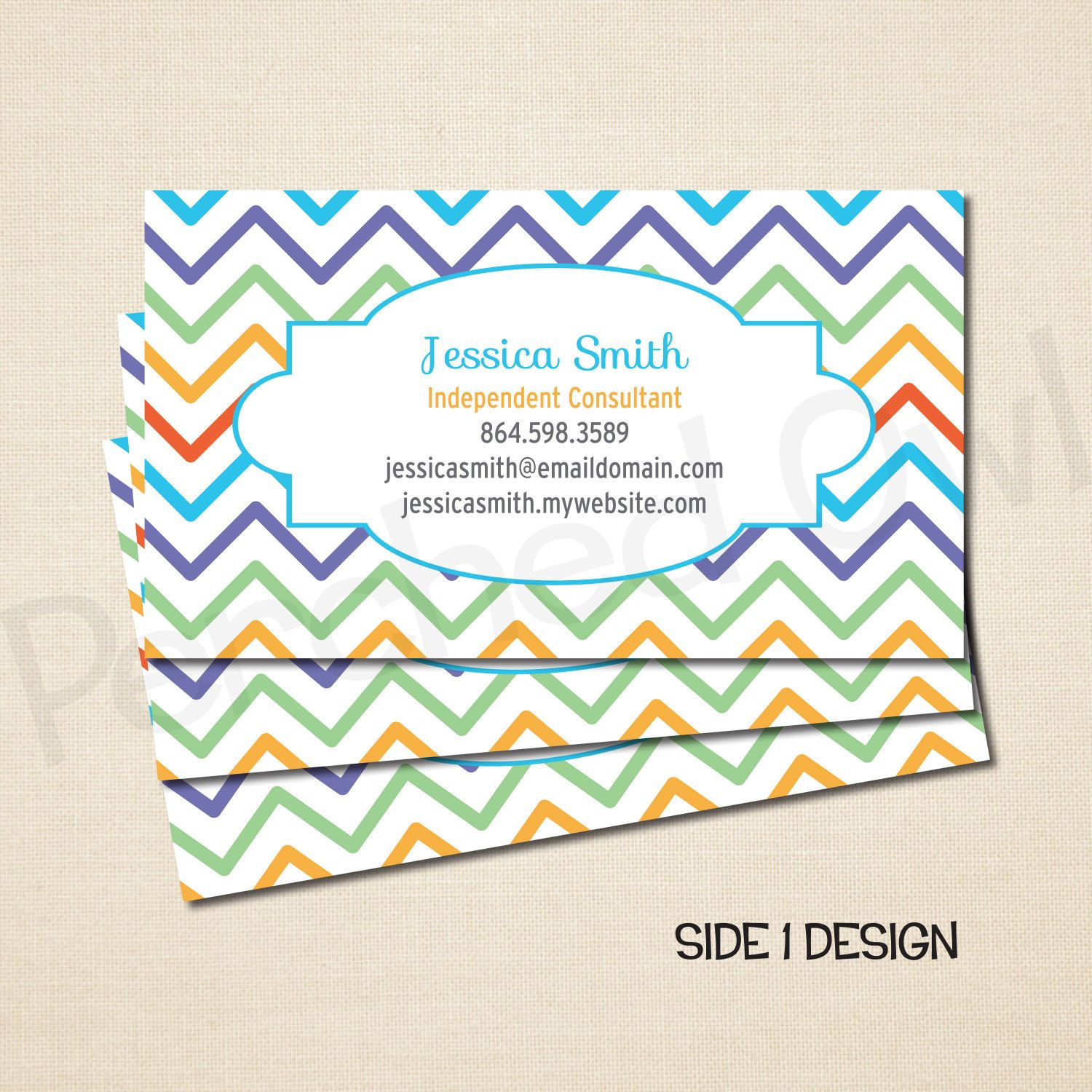 Business Card - Personalized - Direct Selling - Business Launch ...