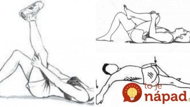 Trápia vás bolesti chrbtice? Vyskúšajte 6 jednoduchých cvikov, ktoré dokážu zázraky!