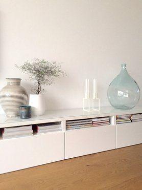 Besta Vitrine Weiss Wohnen Pinterest Ikea Hack Living Rooms