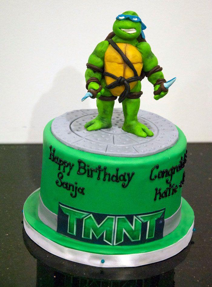 Teenage Mutant Ninja Turtles Cake Toppers Jenson 2015 Pinterest
