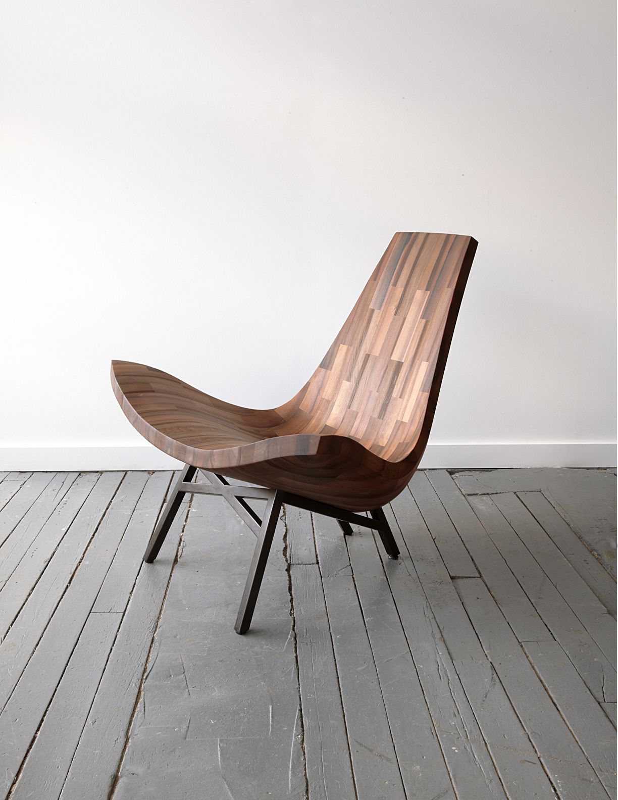 Water Tower Chair By Bellboy (Mat Driscoll)   Made From The Reclaimed  Redwood Staves Of A Park Avenue Rooftop Water Tank.