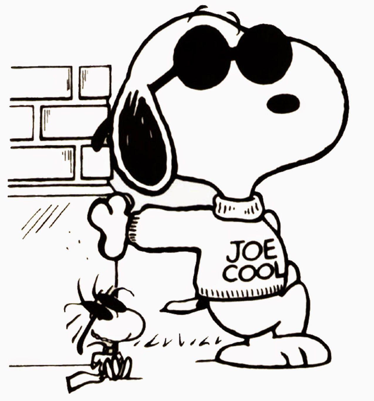 So Joe Cool :) | Cartoons | Pinterest | Snoopy