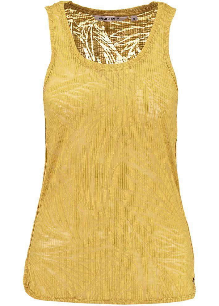dd59e61fd30d Garcia Gul Top E70009 Ladies Singlet - ochre yellow