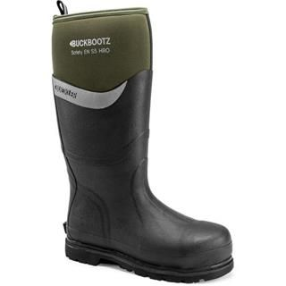 Buckler BBZ6000GR Olive Green Buckbootz These S5 Safety Wellies are lined  with neoprene and full