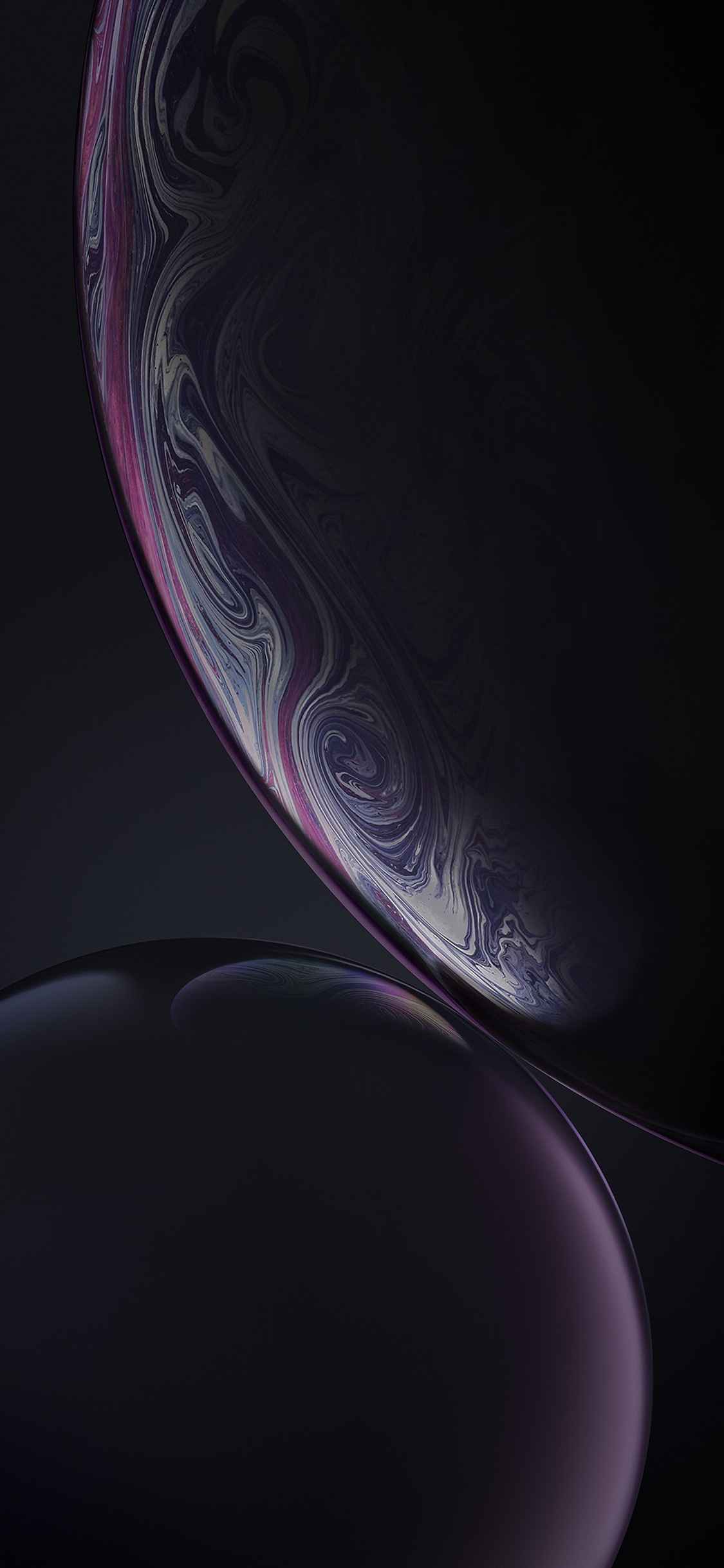 iPhone XR Black Wallpaper in 2020 Live wallpaper iphone