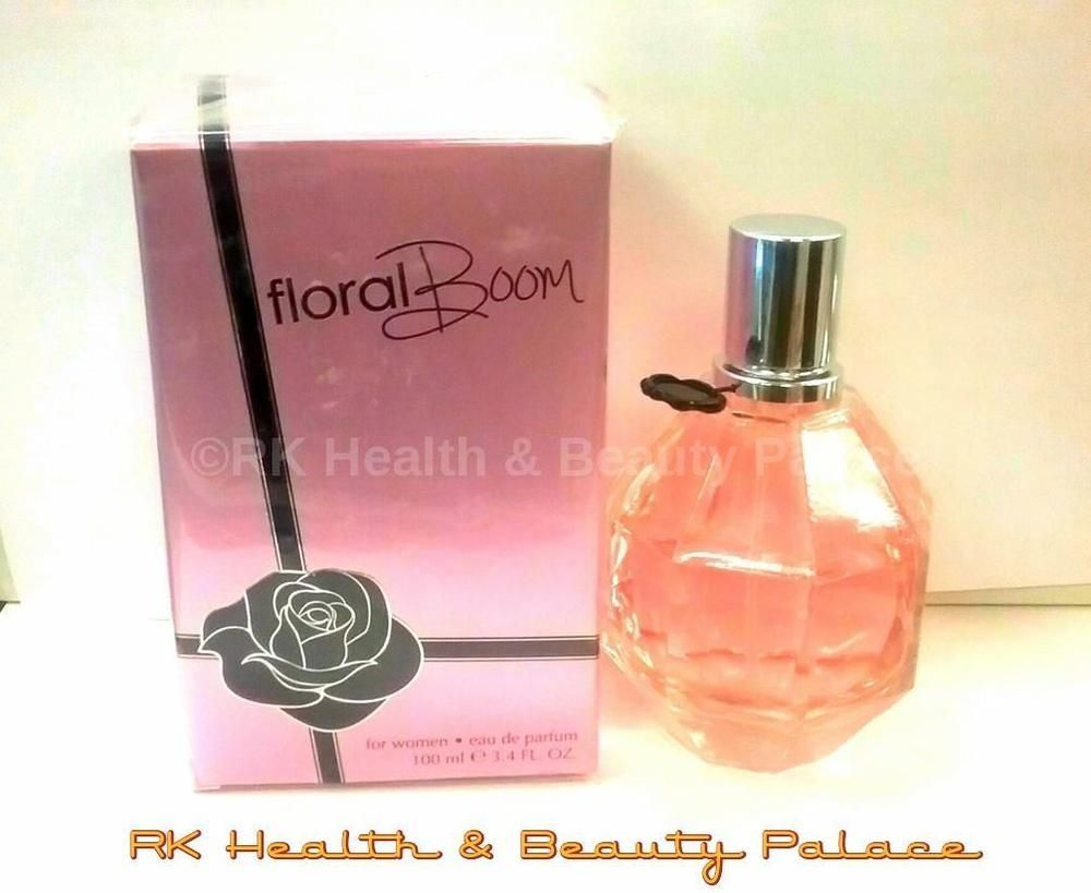 Floral Boom Women Perfume Spray 34 Oz Edp Impression Of Designer