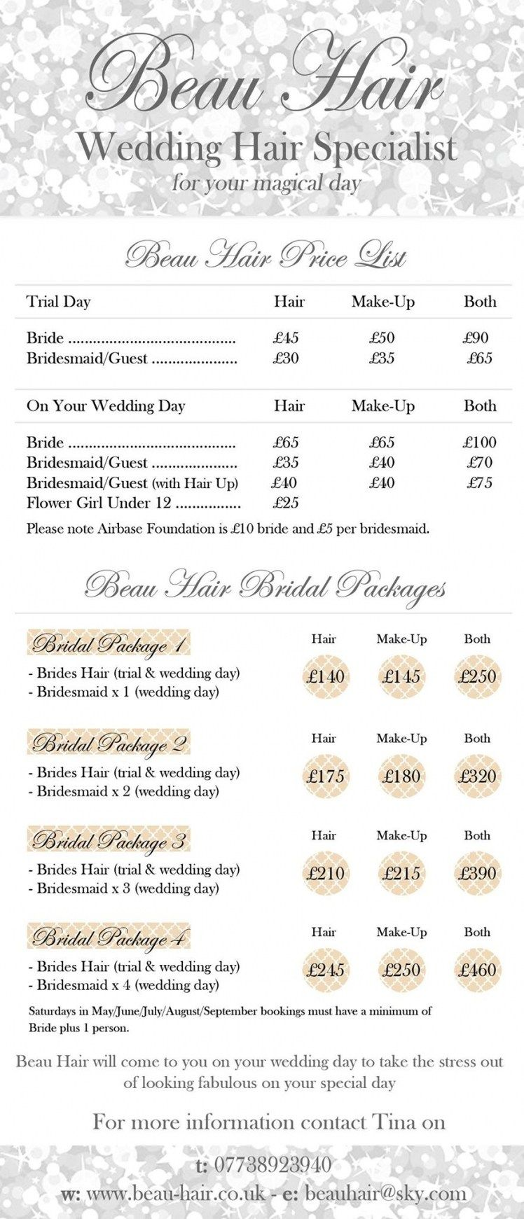 Wedding Hair Prices Sheffield | Hairstyles Ideas For Me | Pinterest ...