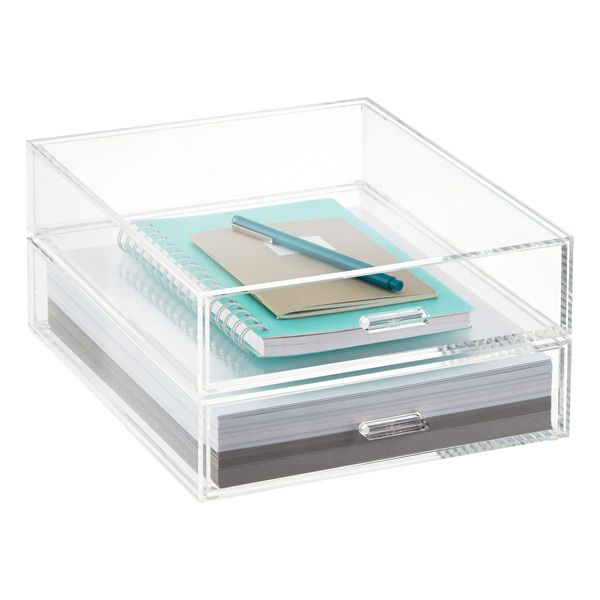 Our Acrylic Paper Drawers Are Clearly A Beautiful Way To Organize  Paperwork. Available In Both