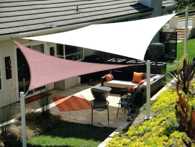 Patio Sun Shade Ideas Magnificent Patio Sun Shades For Alluring
