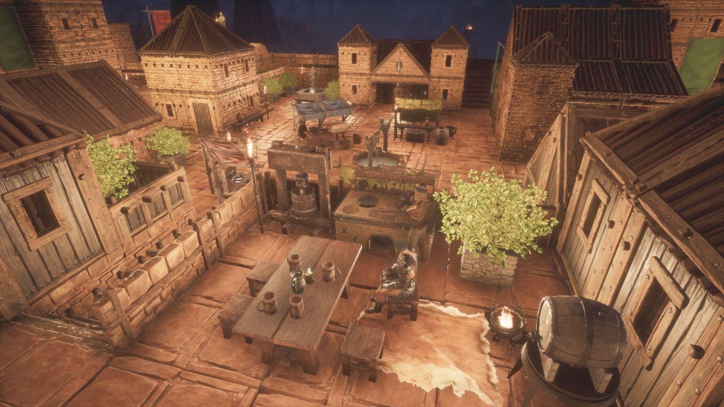 A Beautiful City In Conan Exiles In 2020 Conan Exiles Conan Architecture Building Design