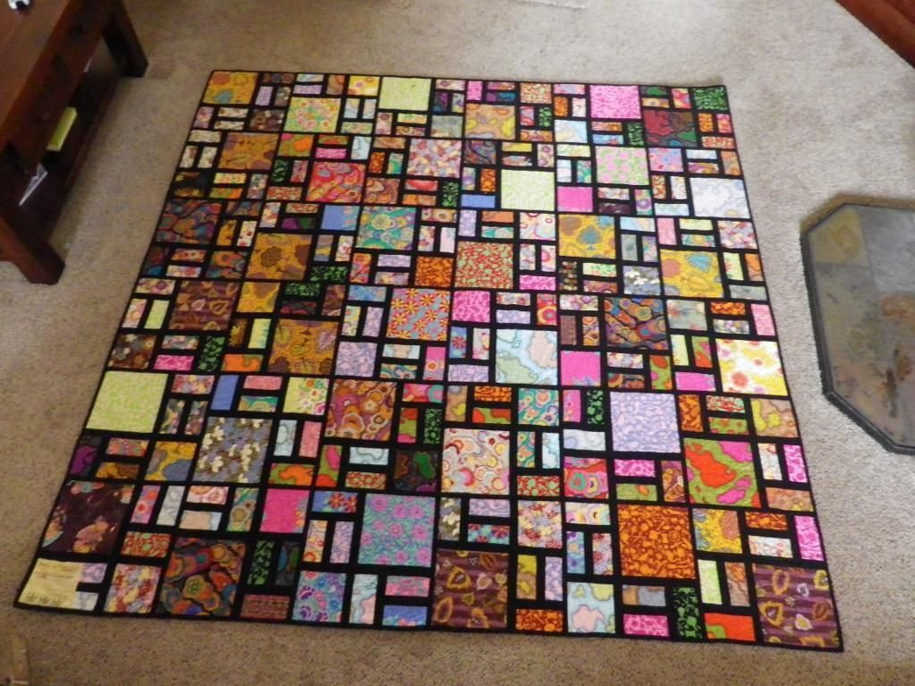 Asian Scrappy Road Quilt | Quilt Ideas | Pinterest | Stained glass ... : chinese quilt patterns - Adamdwight.com