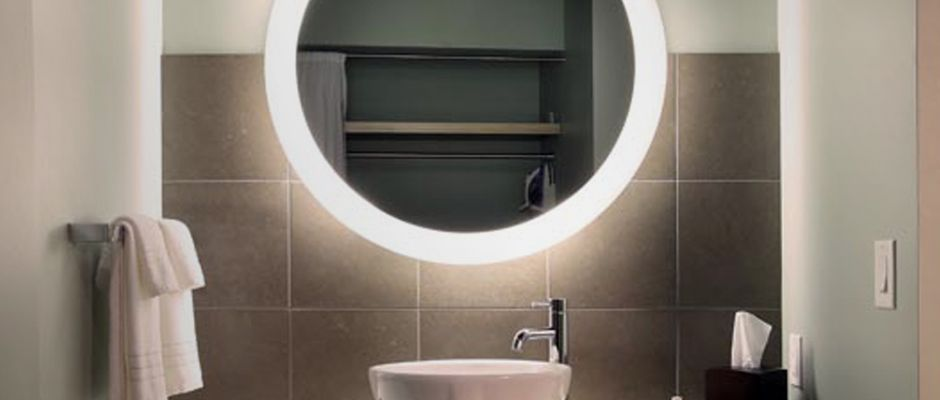 Charming Mosaic Bathrooms Design Small Big Bathroom Wall Mirrors Round Bathroom Center Hillington Bathrooms With Showers And Tubs Young Moen Single Lever Bathroom Faucet Repair SoftWall Mounted Magnifying Bathroom Mirror With Lighted Trinity Lighted Mirror | Shape, Lighted Mirror And Love This