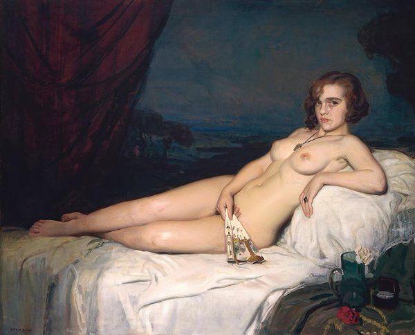 Francisco Soria Aedo(1898ー1965)「Odalisque」