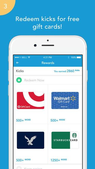 Shopkick Rewards Free Gift Cards For Shopping Plus Deals Discounts On The App Store Shopping Rewards Money Saving Tips Shopkick