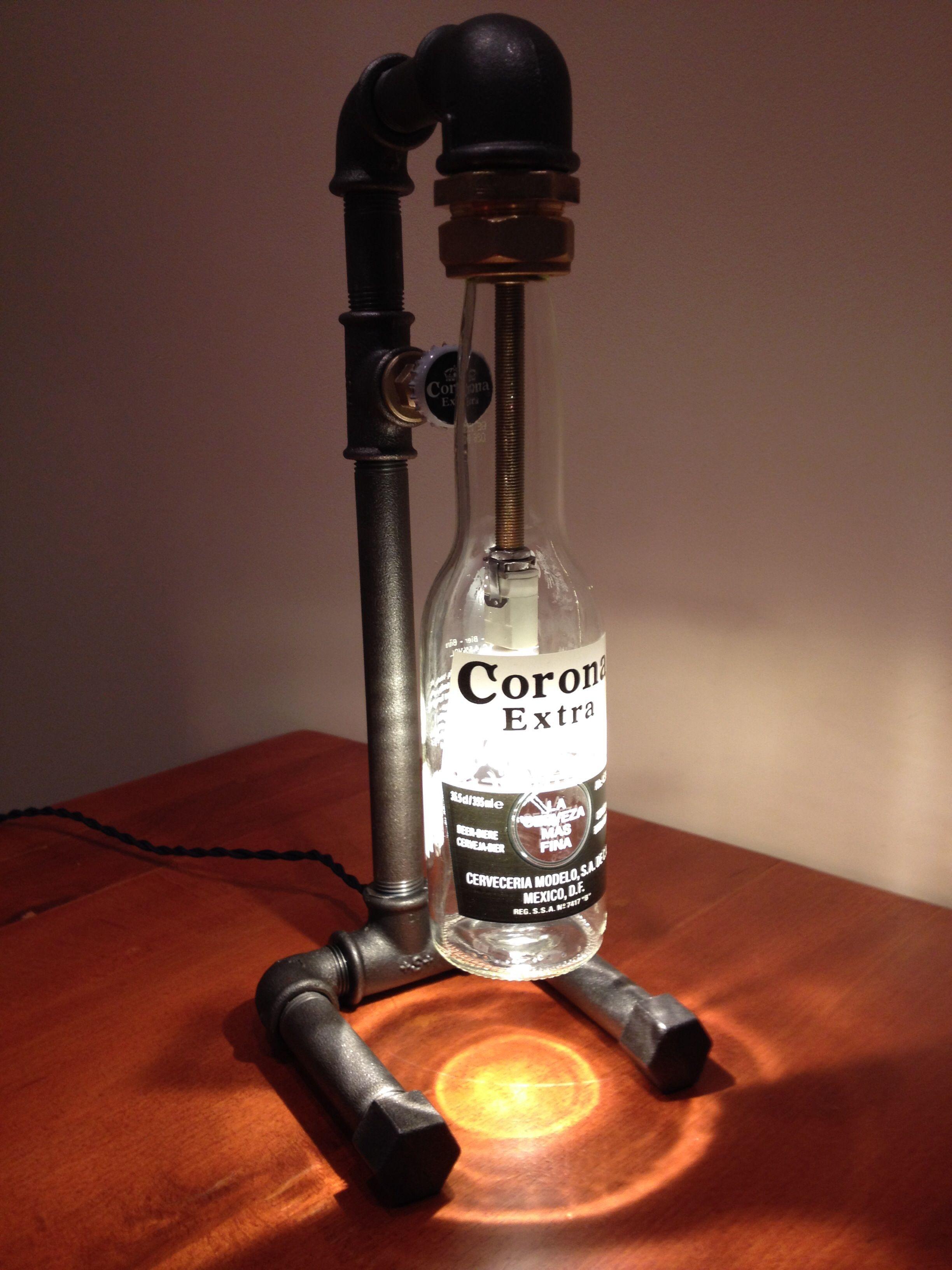 Corona Bottle Lamp By Wwwvangaelbe