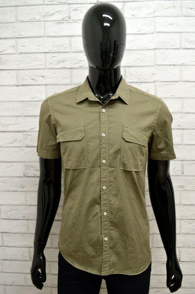 big sale 8d954 4f4da Camicia Uomo FAY Taglia Size 40 ( S ) Shirt Maglia Polo ...