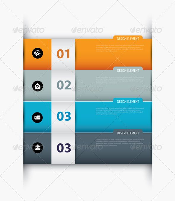 Vector Paper With Index on White Background Background templates - paper design template