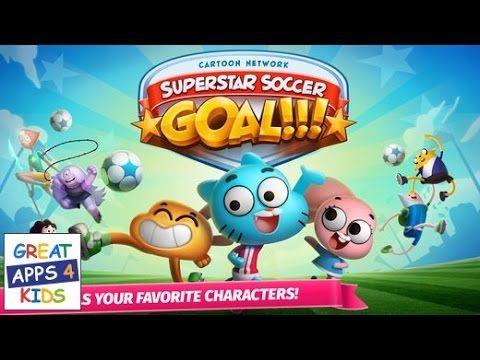 Cartoon Network Super Soccer Goal Cartoon Network Game App For Kids Cartoon Network Soccer Goal Kids App