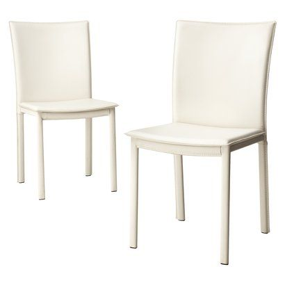 Diningriley Faux Leather Dining Chair Ivory Set Of 2Opens In A Pleasing Ivory Leather Dining Room Chairs Decorating Design