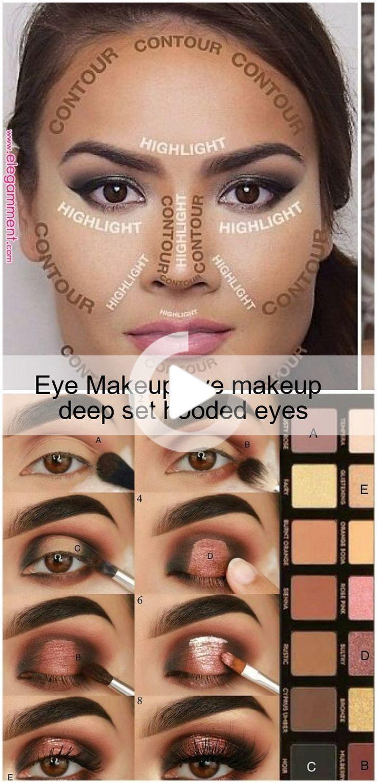 Eye Makeup eye makeup deep set hooded eyes in 2020