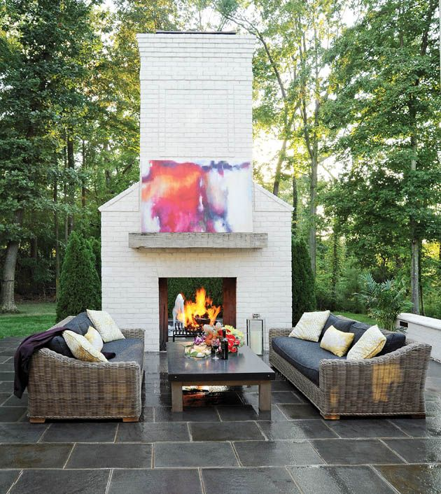A Striking Outdoor Living Creation To This Albany, NY Home