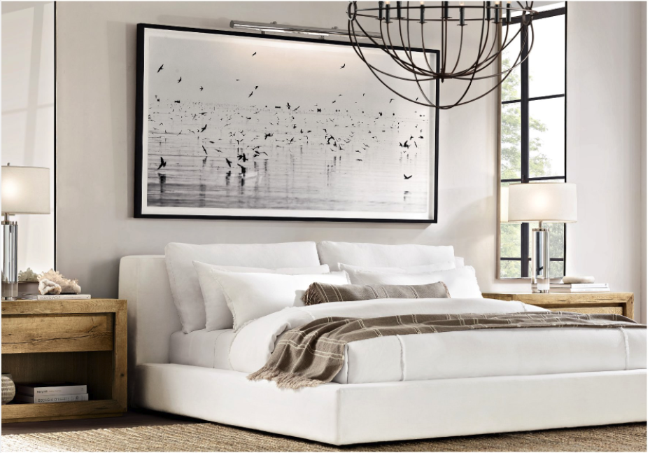 Restoration Hardware Modern Bedroom Design Home Decor