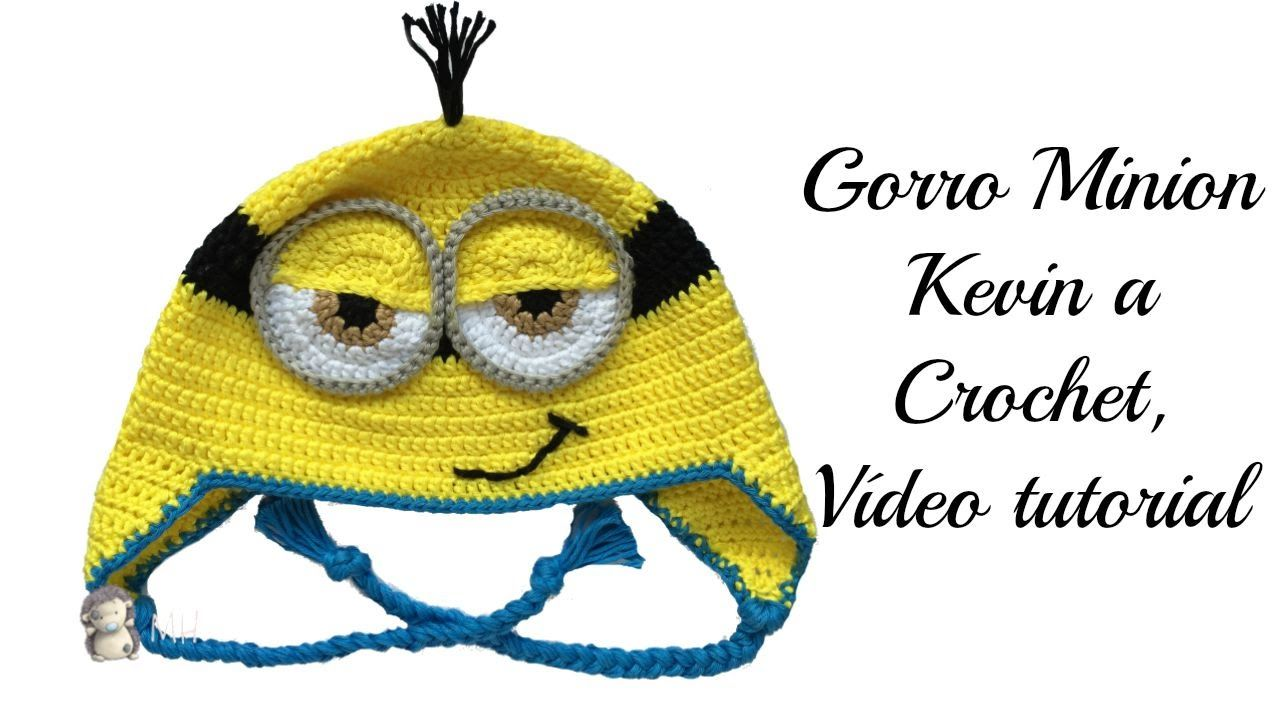 Gorro Minion a Crochet, Vídeo tutorial | GORROS VARIOS 2 | Pinterest ...