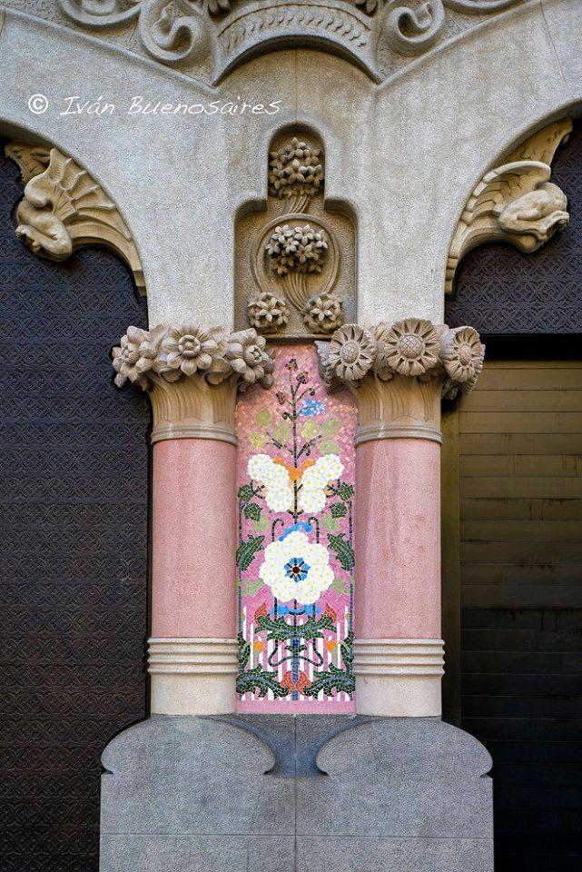 Casa Lleó Morera (Lluís Domènech i Montaner - 1905) 35 del Paseo de Gracia - Barcelona.