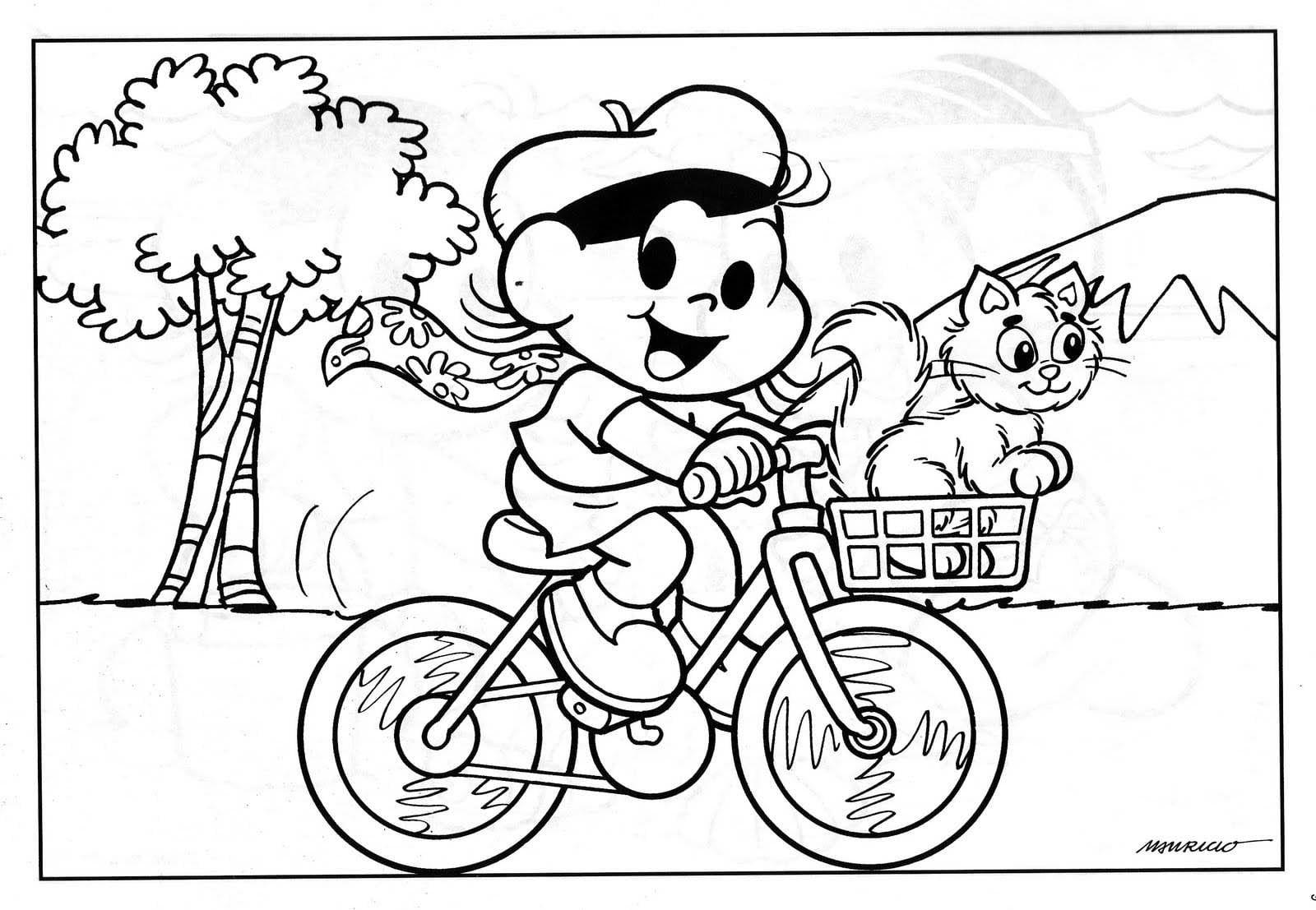 Desenhos Para Colorir Turma Da Monica Jovem Magali Com Imagens