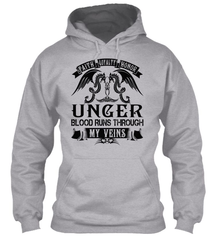 UNGER - My Veins Name Shirts #Unger