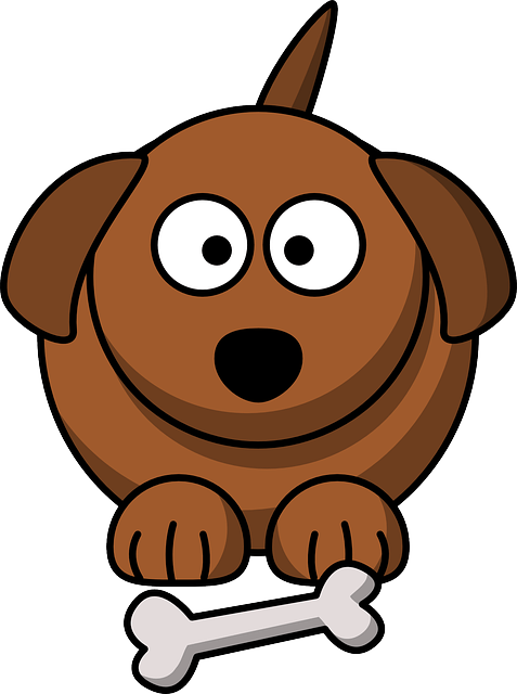Make Your Dog Happy With Our Natural Doggy Treat Recipe Wellness Coaching For Life Dog Clip Art Cartoon Dog Cartoon Clip Art