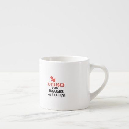 Create Your Own Custom Espresso Cup | Mugs, Coffee mugs