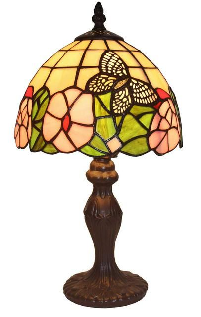 Tiffany Style Floral Mini Table Lamp 15 In Am042tl08 Mini Table Lamps Mini Accent Lamps Tiffany Style Lamp