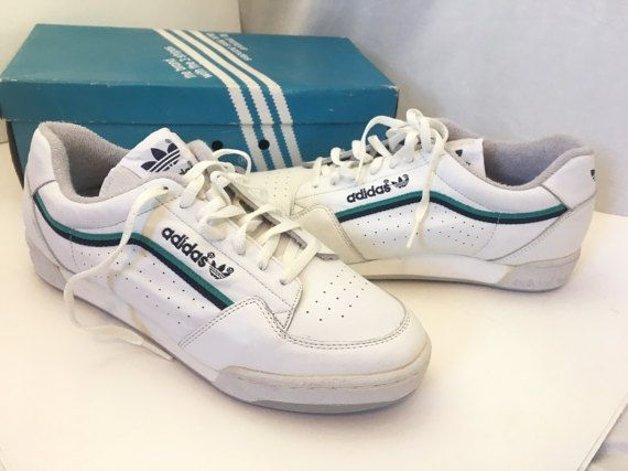 679e6466222b Deadstock Adidas Vintage Adidas Shoes Size 8 Mens Adidas Originals Late 70s  Adidas Deadstock Vintage White Sneakers Adidas Trefoil ▻ Labeled Size  Mens  ...