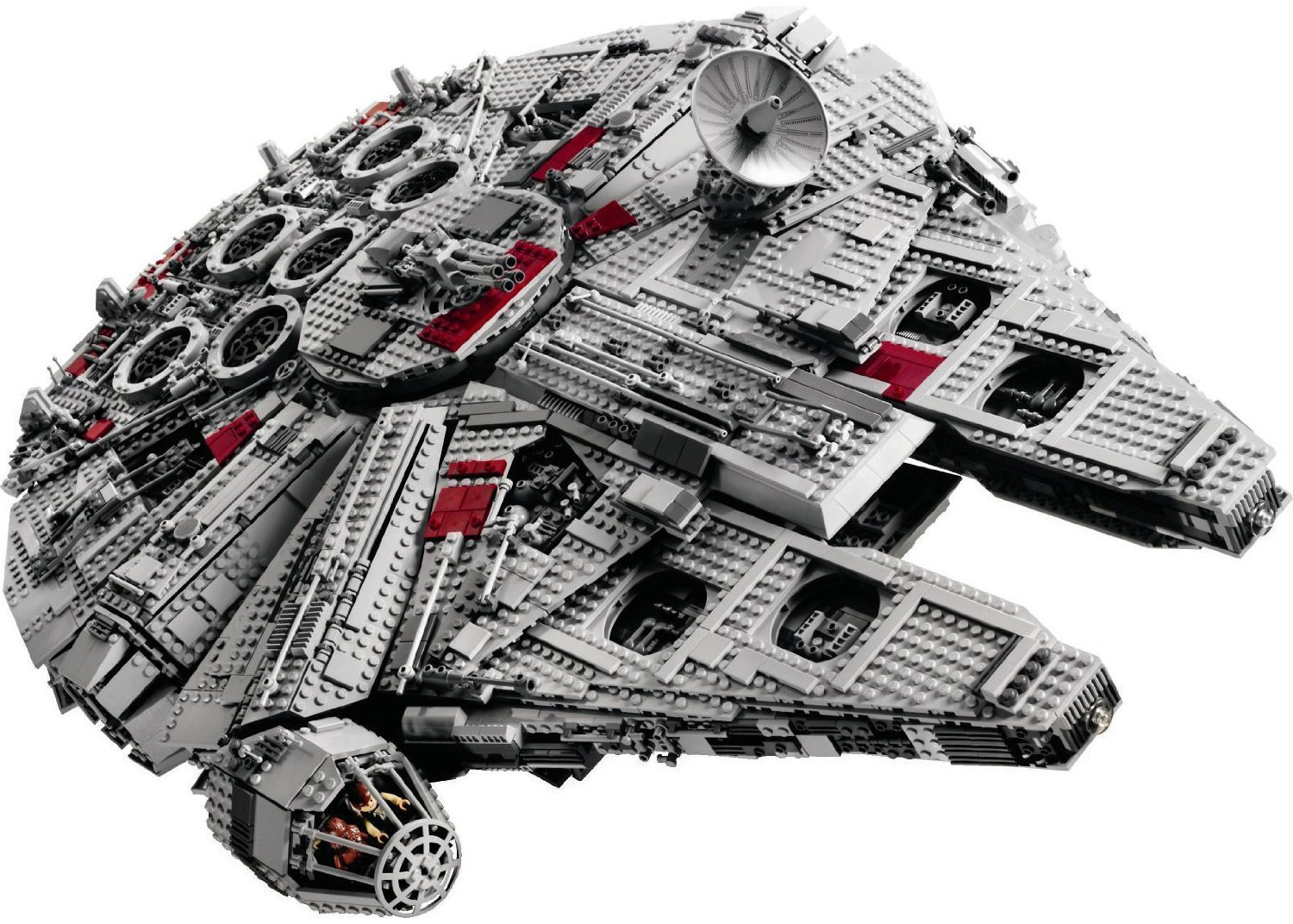 star wars and legos have always gone together like peanut butter and jelly but this lego millenium falcon takes the cake the lego millenium falcon is a