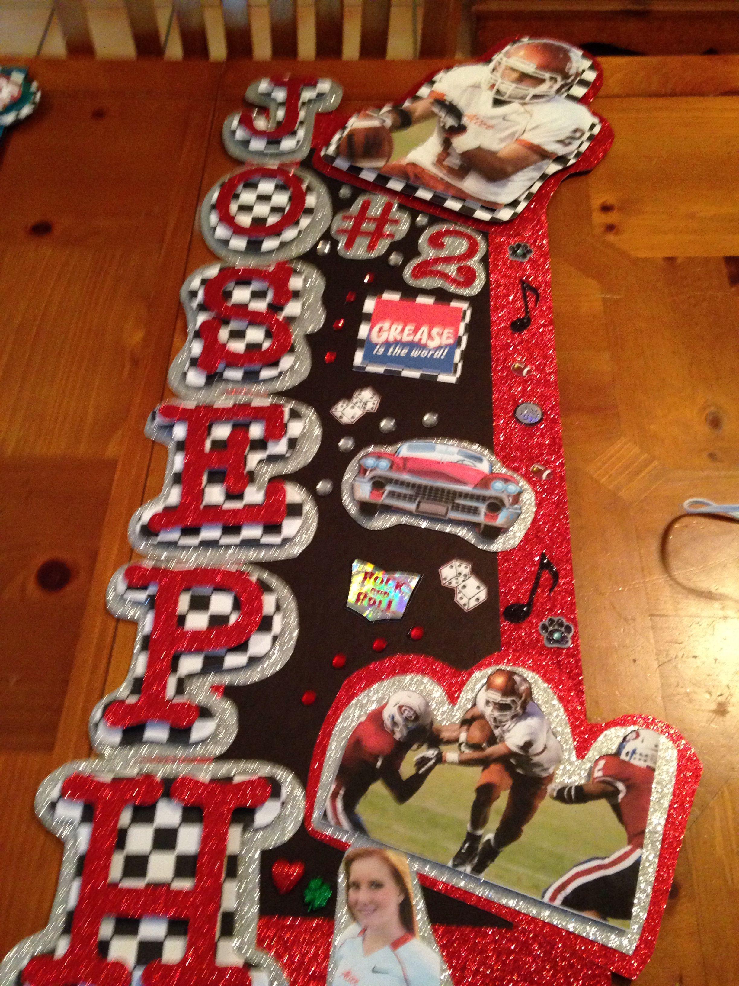 Grease Theme Locker Decoration Week 4 Julie 39 S Locker Decorations Pint